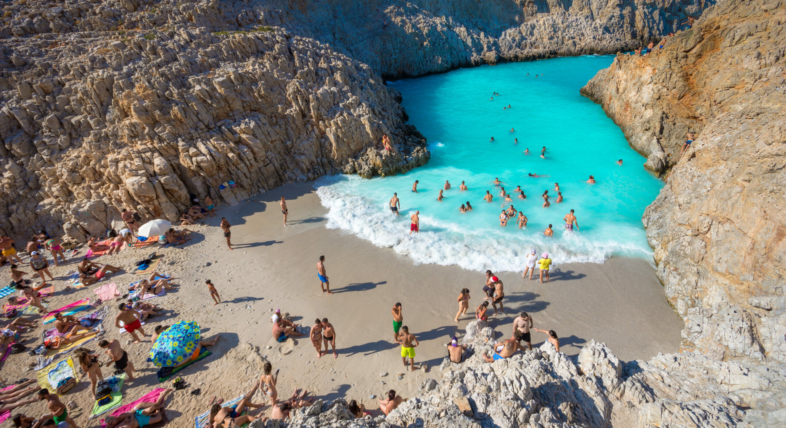 "Sheitan Ports: The exotic ""devil harbours"" of Crete"