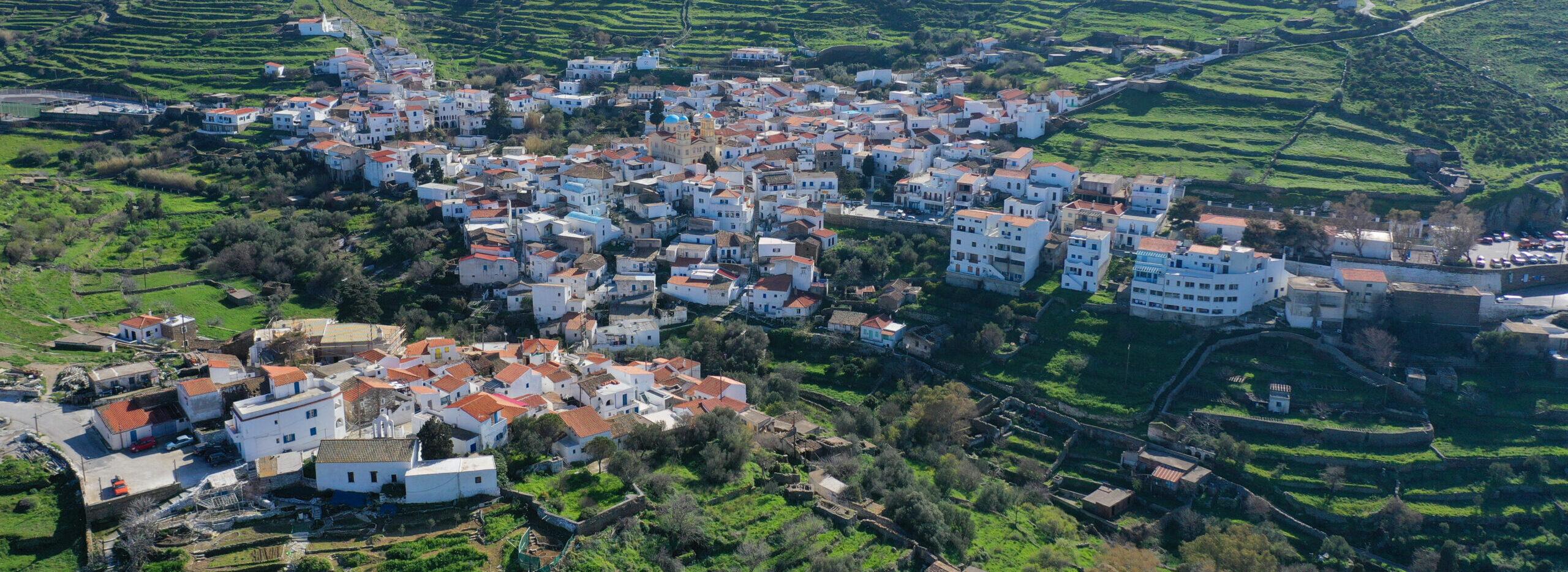 Kythnos: The labyrinth village