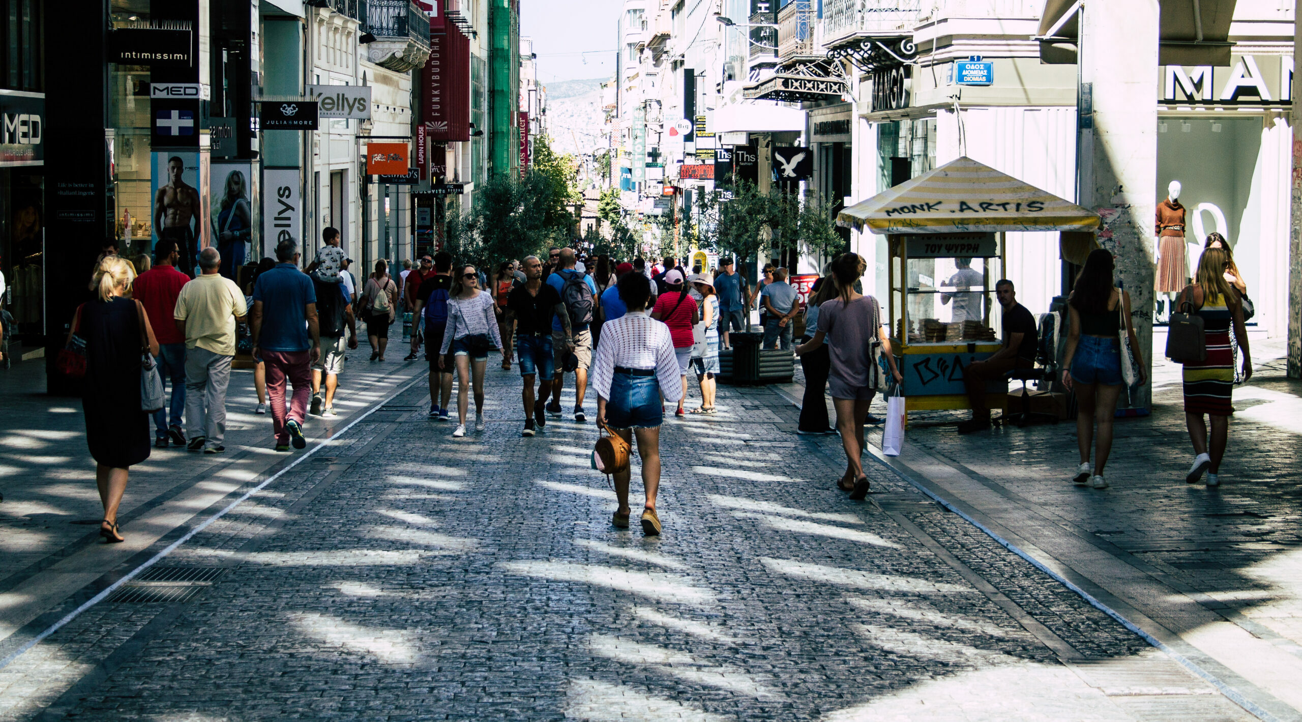 Ermou: This street was made for walkin'