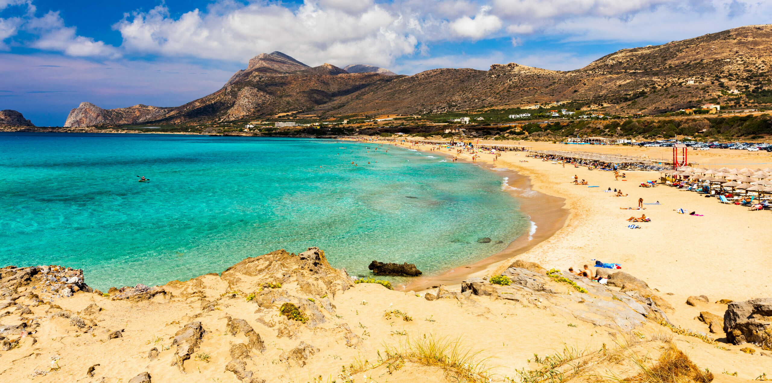 Falasarna: the stunning beach that was once an ancient port
