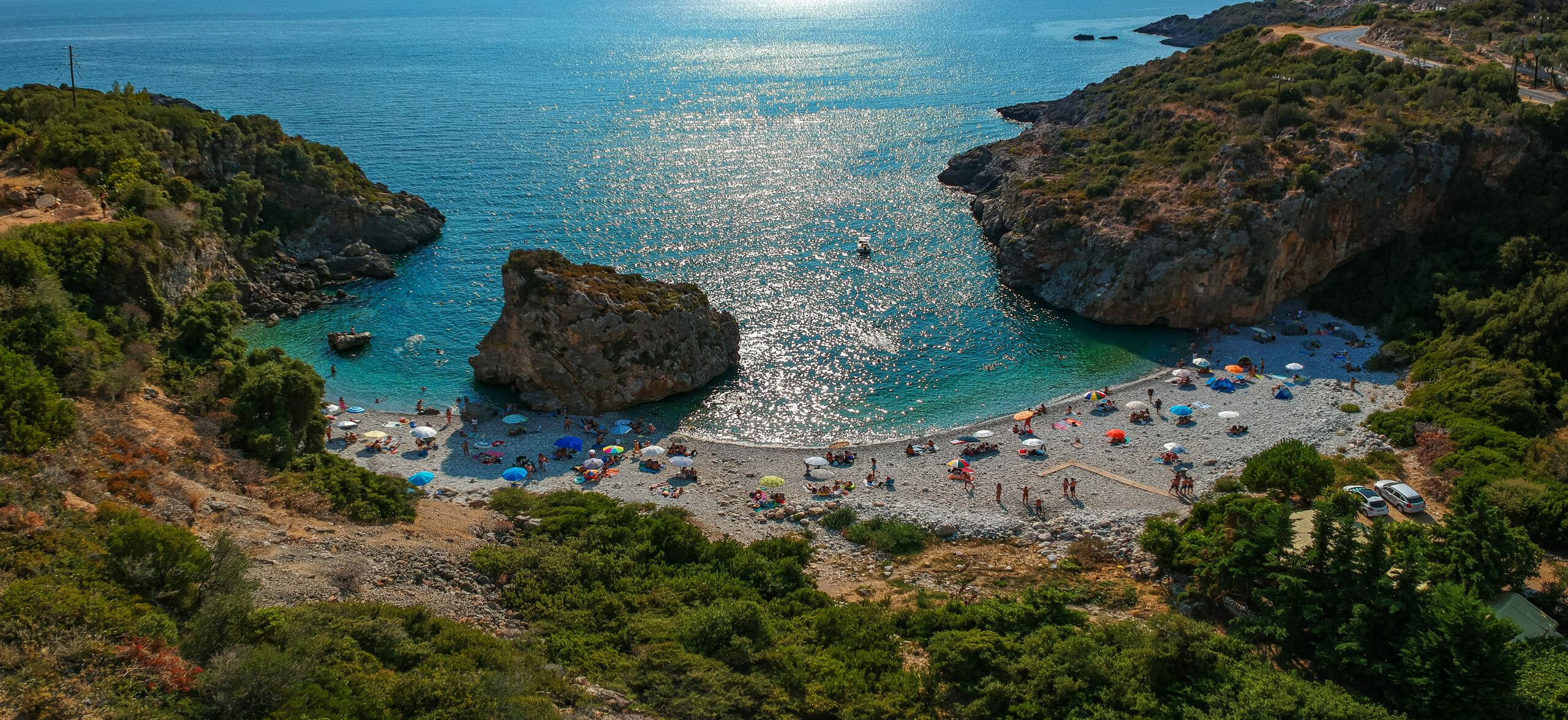 The legend behind the name of Foneas beach in the Peloponnese