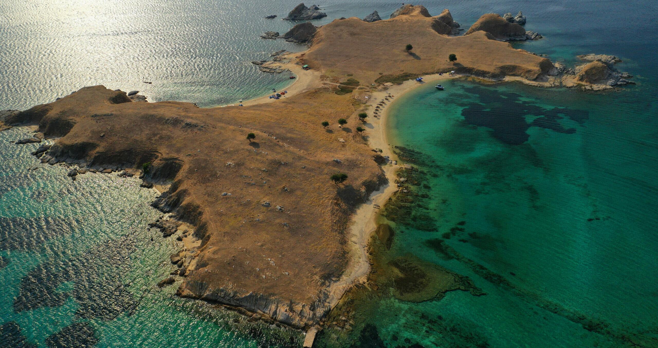 """Gaidouronisia: A landscape full of """"blue lakes"""""""