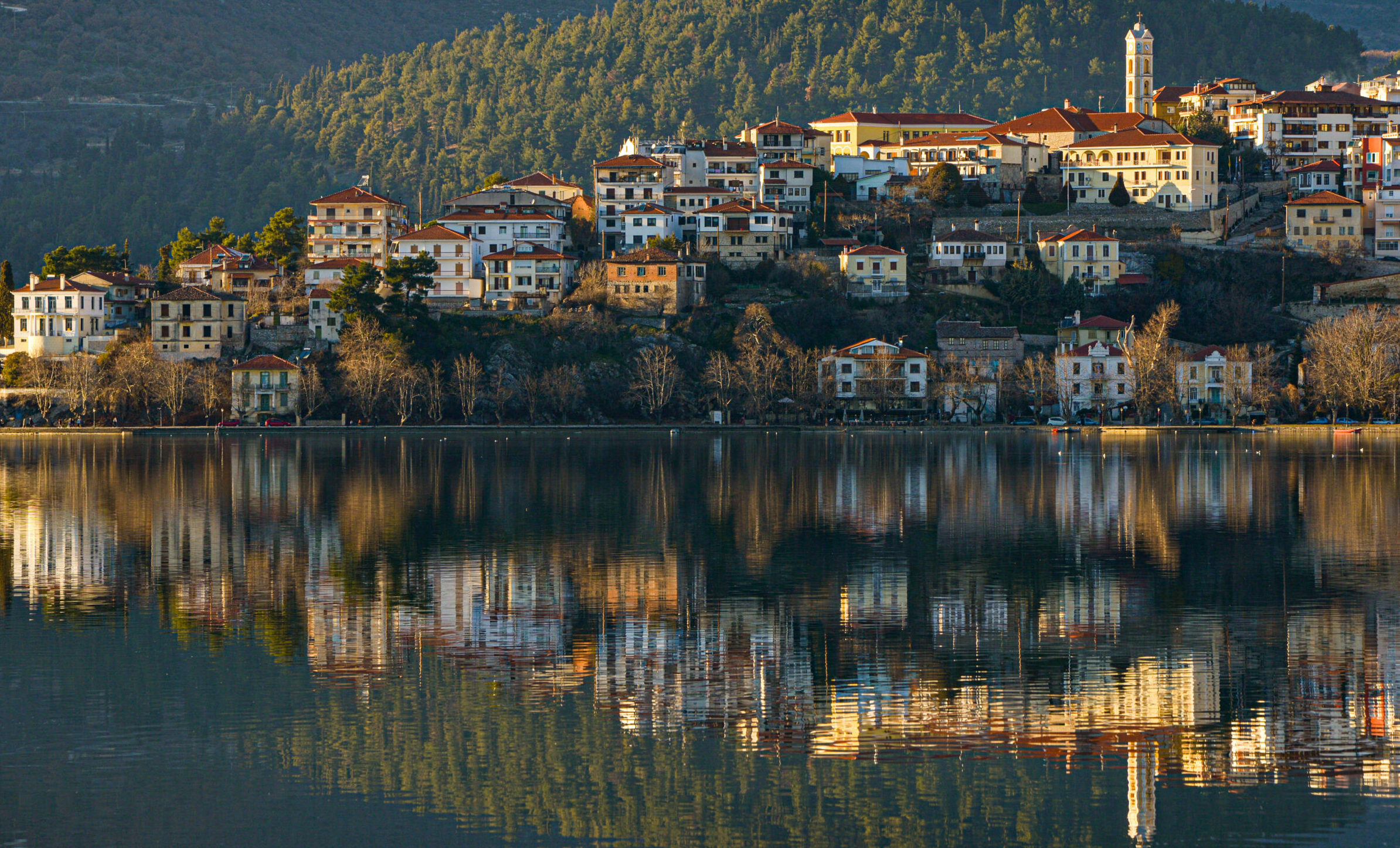 Trip to Lake Kastoria: Nature at its best