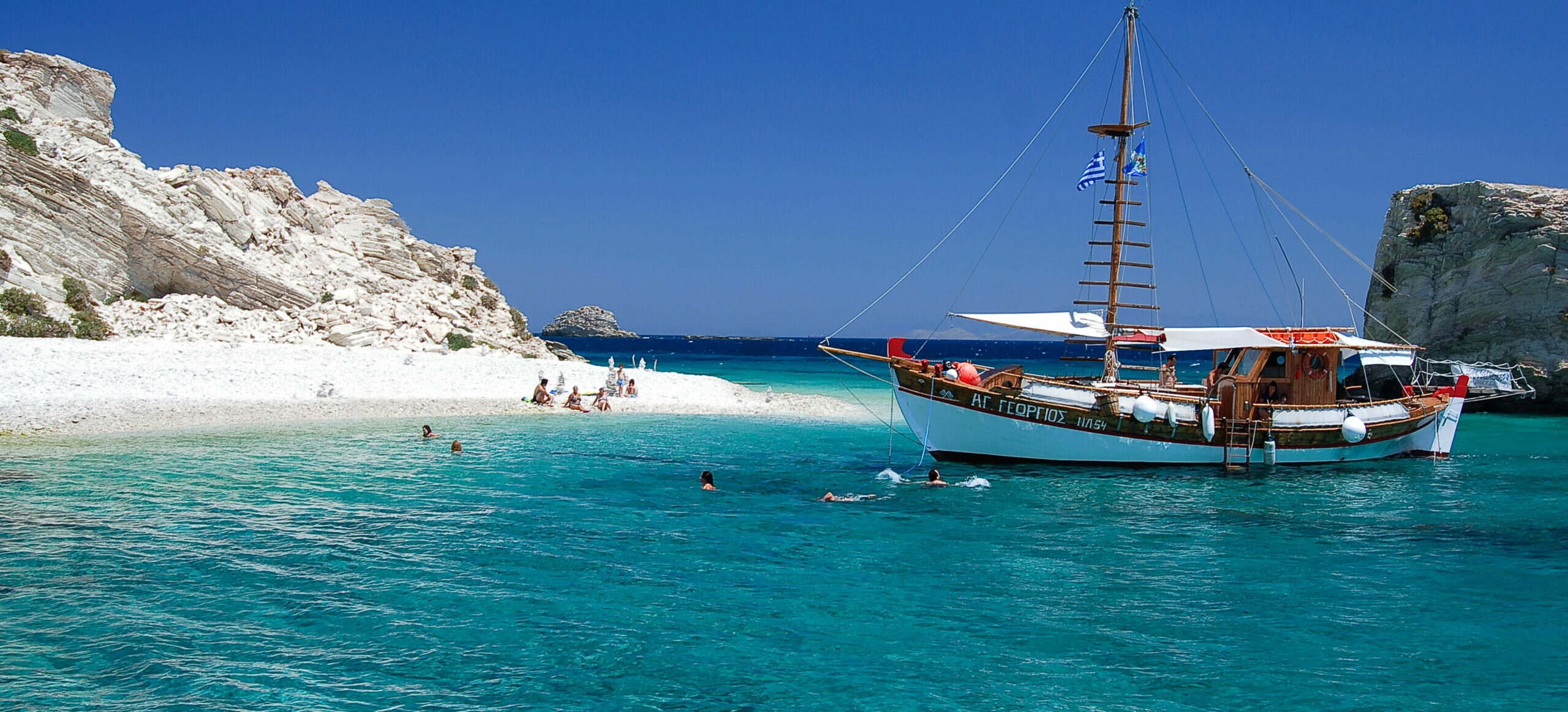 The island called the small Italy of the Aegean