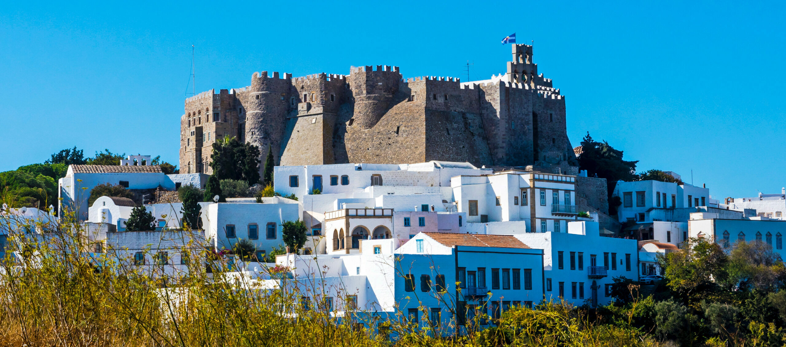 Patmos island: The Cave of the revelation, a place of peace and devoutness