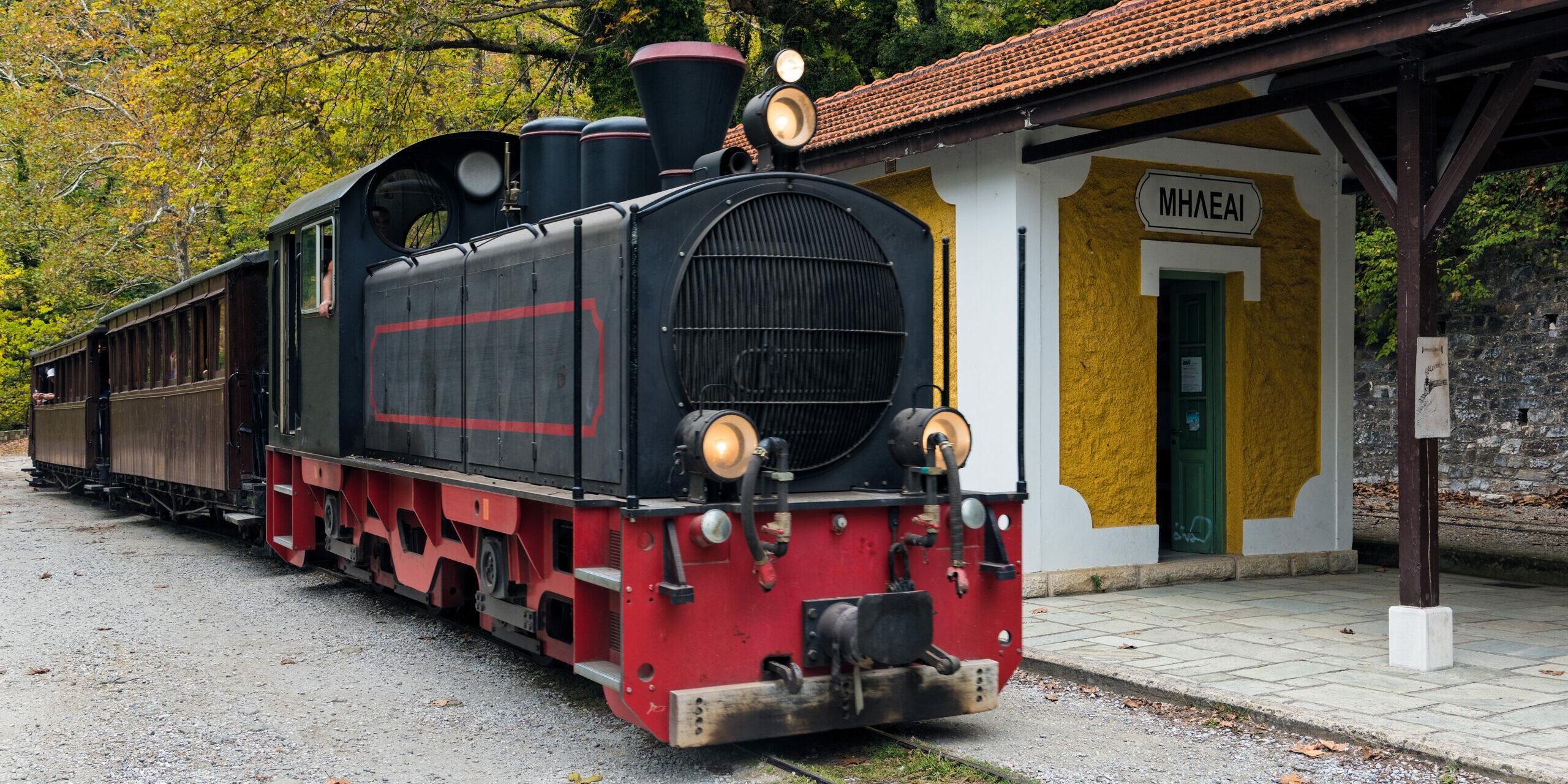 Pelion: The legendary train, a historic route