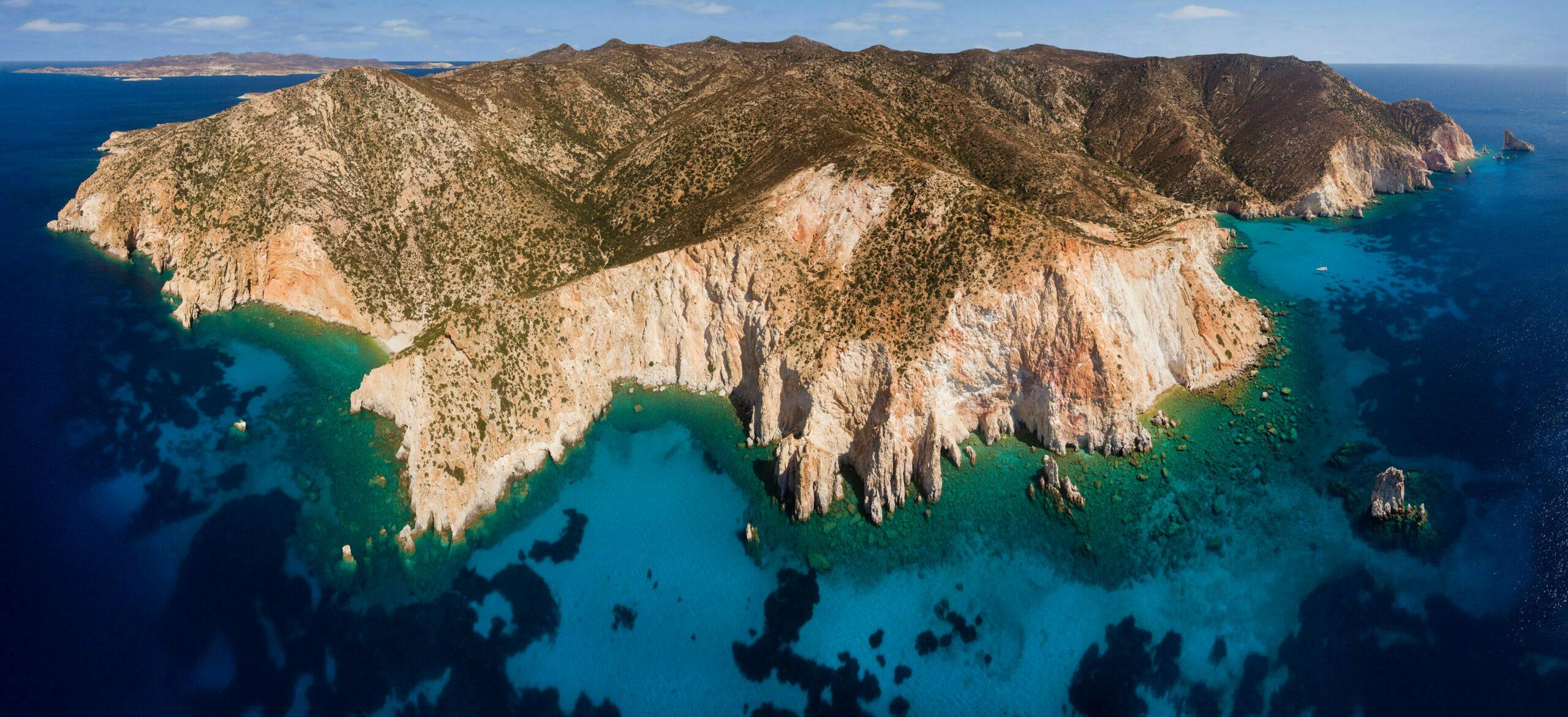 Aegean: The largest uninhabited island full of natural pools