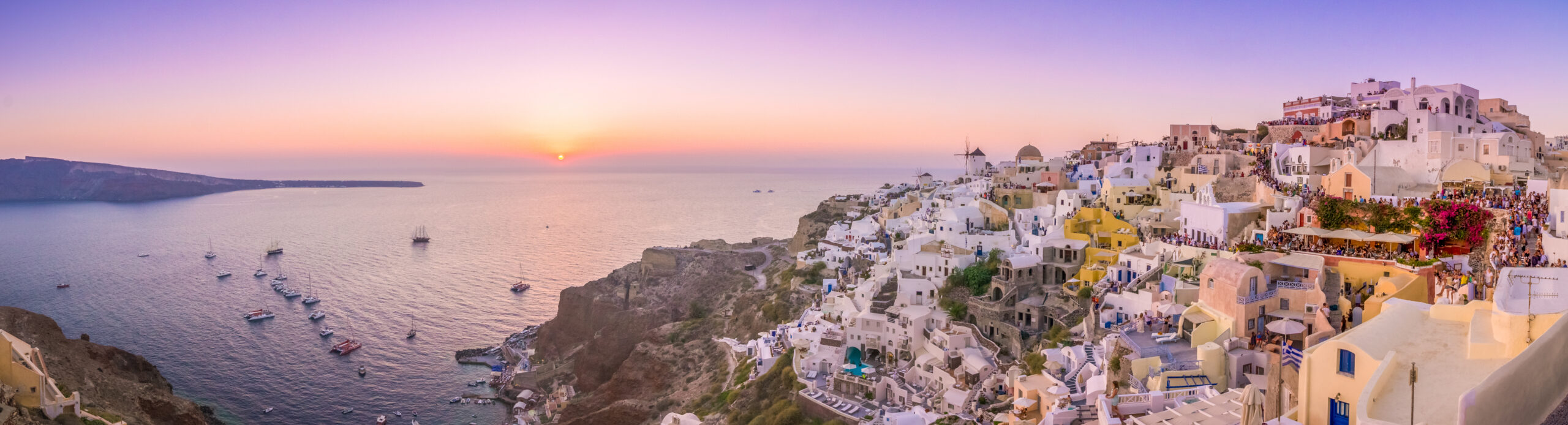 The unknown capital of Santorini that today does not exist
