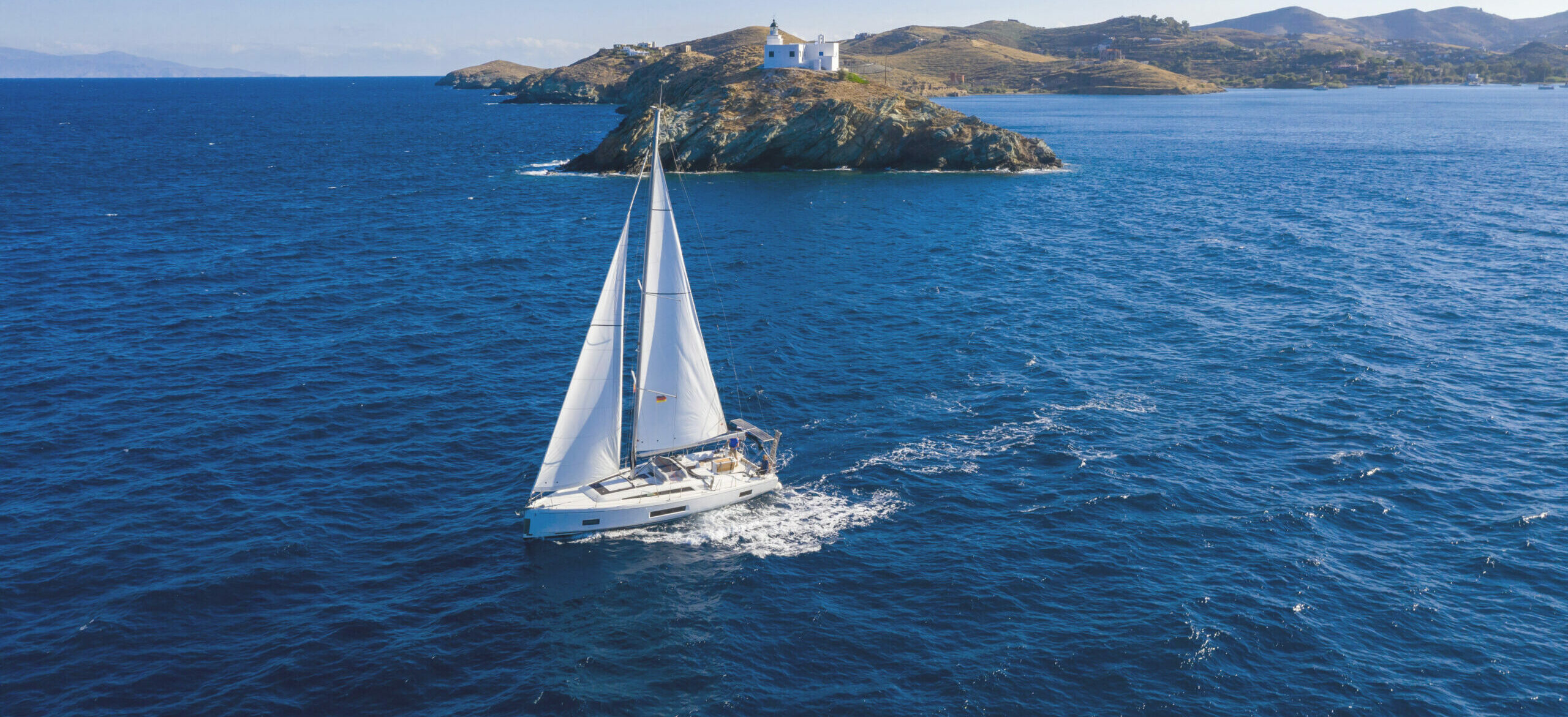Three unforgettable days on a boat in the Aegean Sea