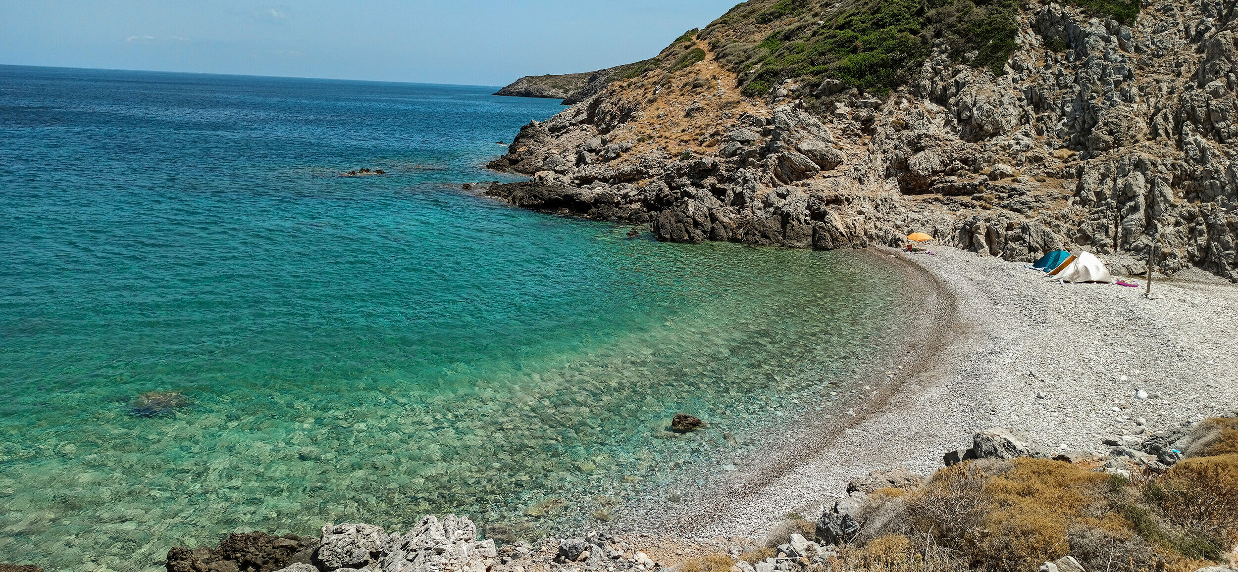 Kythera: the exotic beach of Kakia Lagada