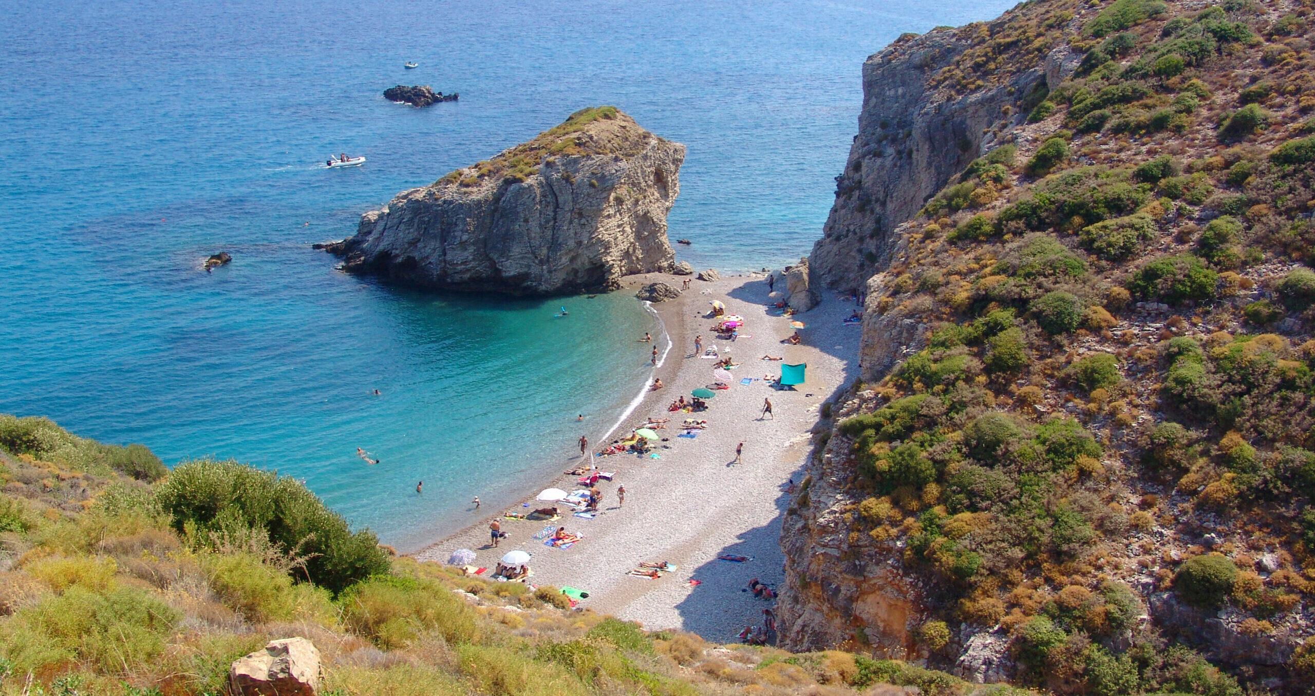 Kythera: amazing Kaladi beach