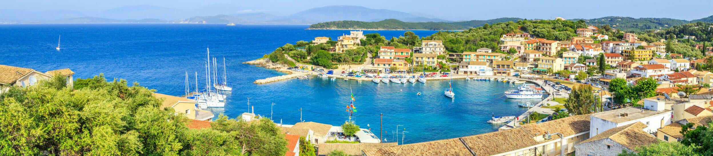 Corfu: Kassiopi – The traditional fishing village in  the island of Pheakes
