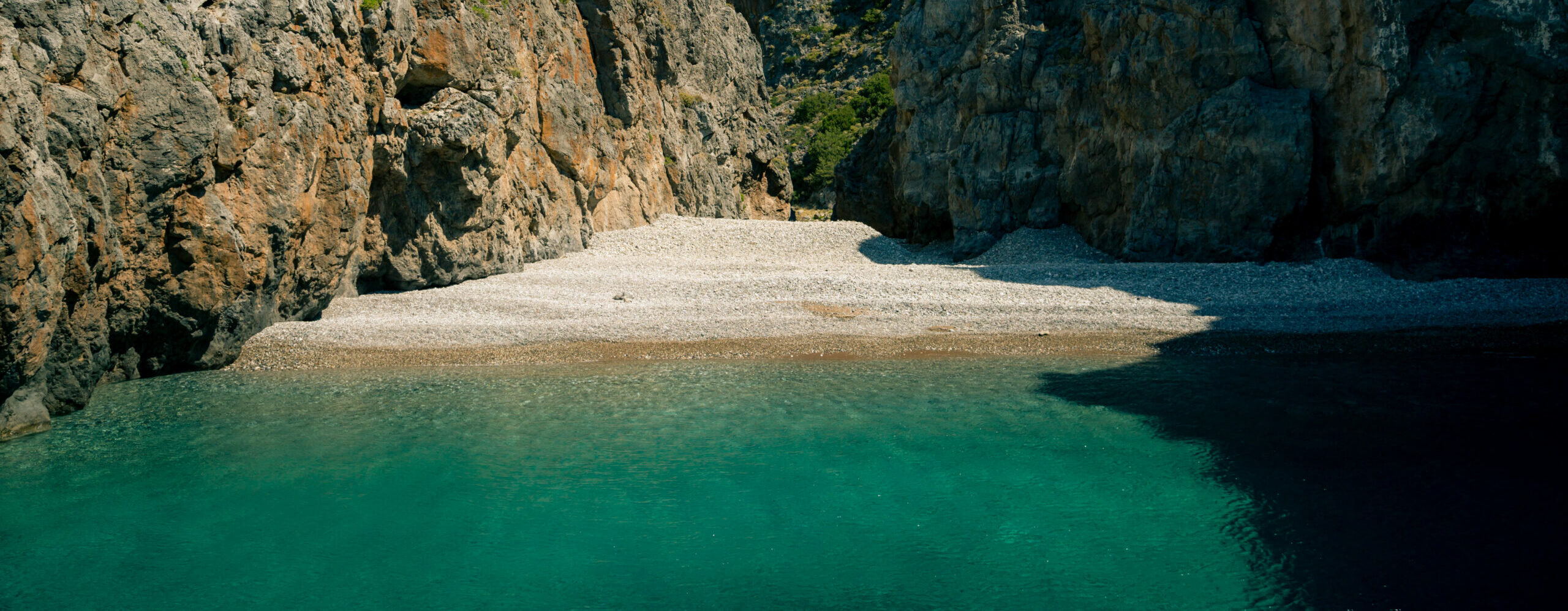 Kyriakoulou: funny name for a secluded beach on Kythera