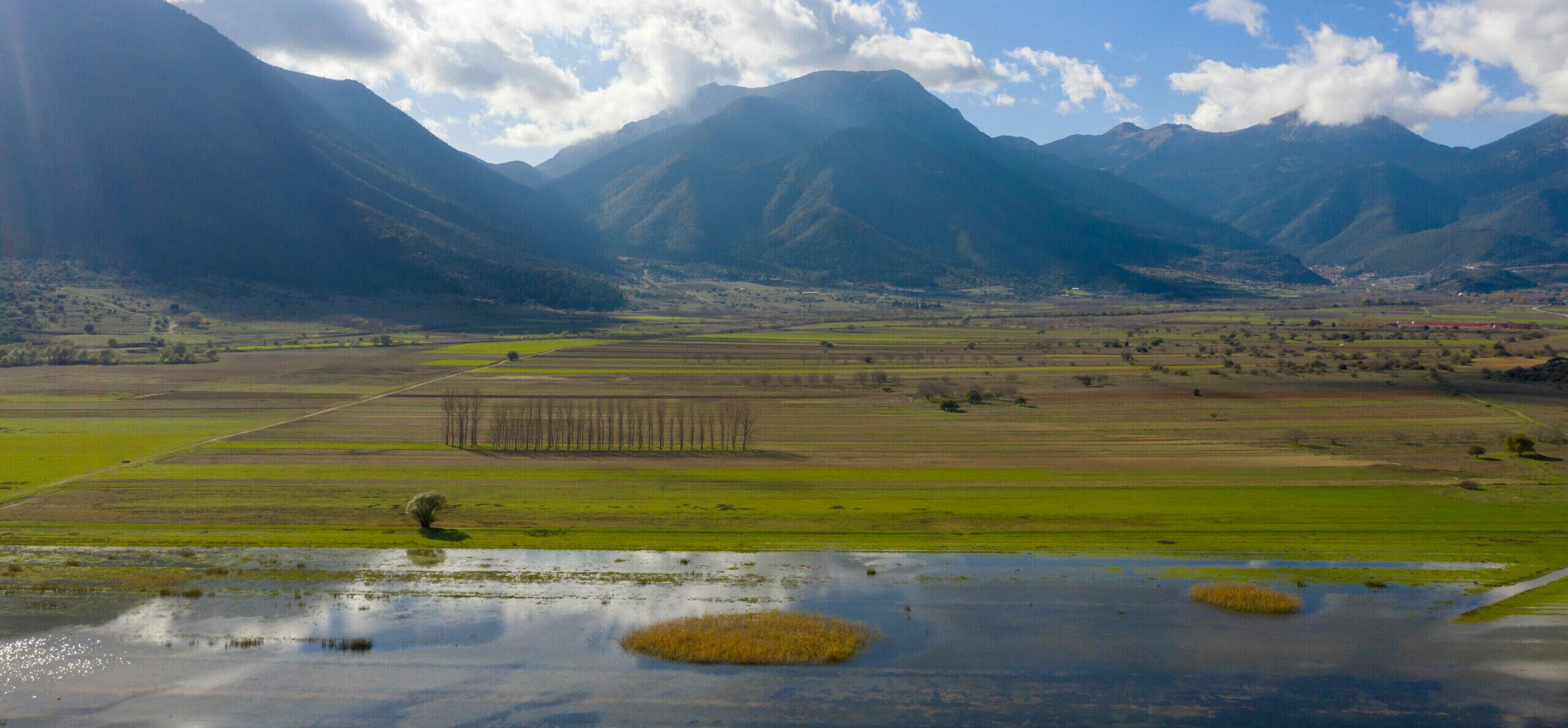 "Peloponnese: The Lake Stymphalia – The Greek ""Loch Ness""."
