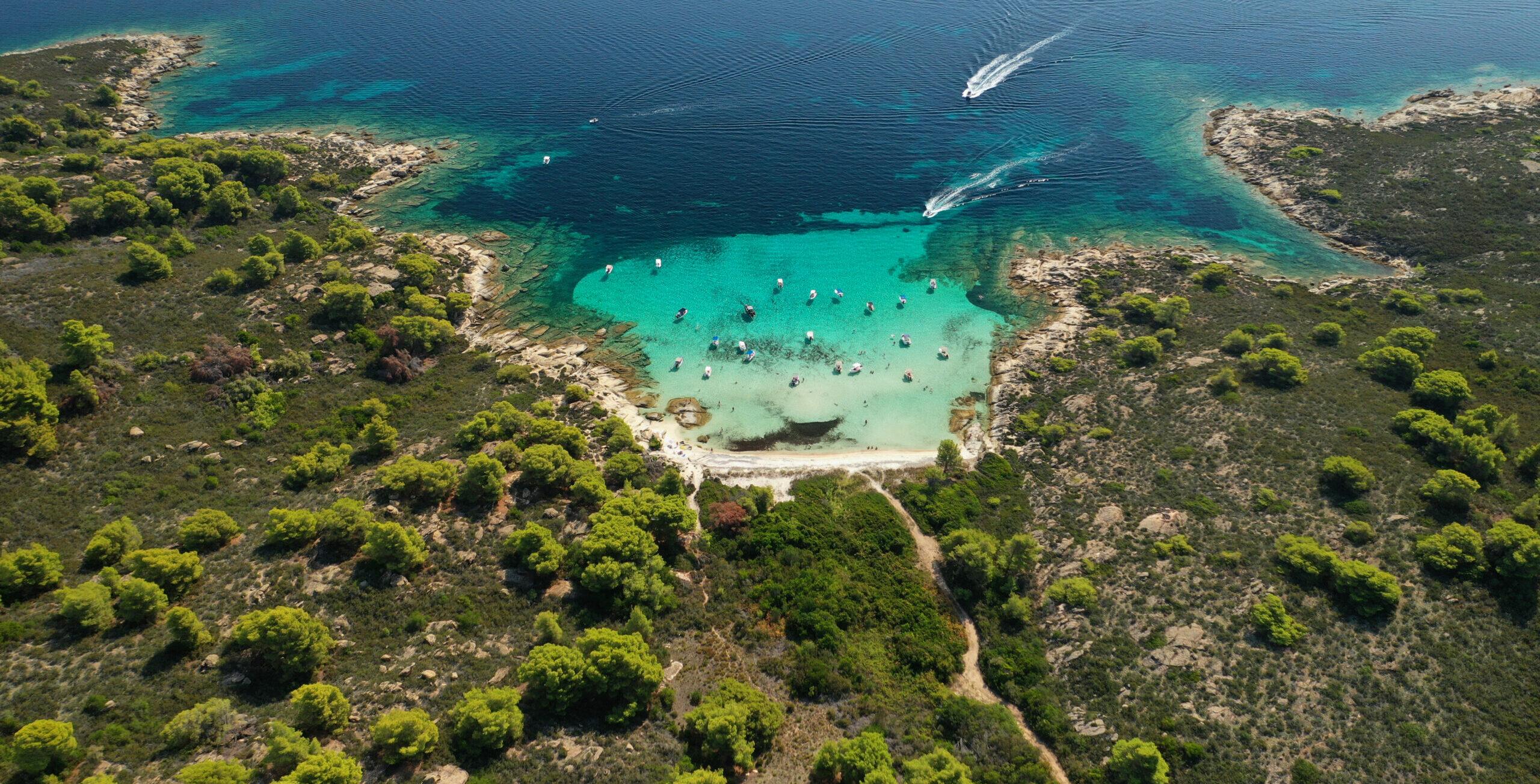 Halkidiki: Lefki beach, The Hawaii of Greece