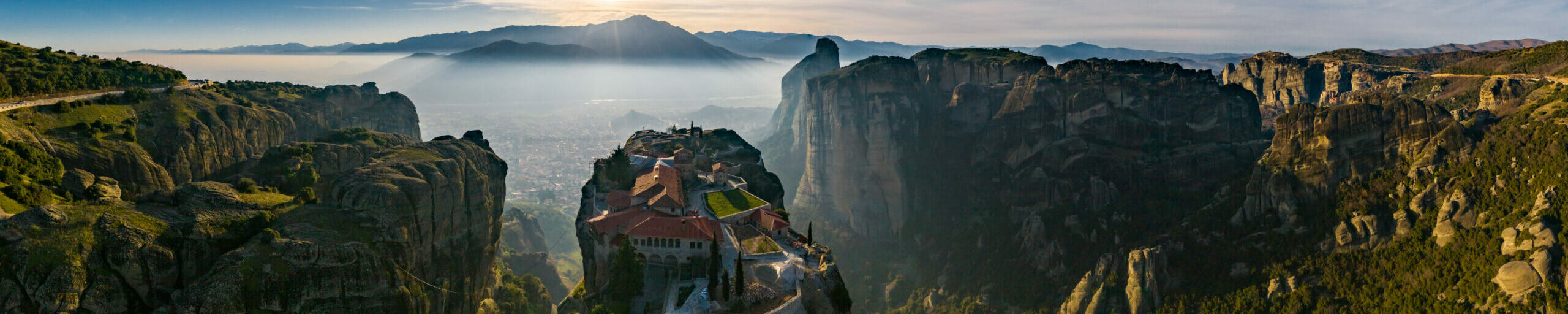 Meteora: The mystical mountains that enchanted a British columnist