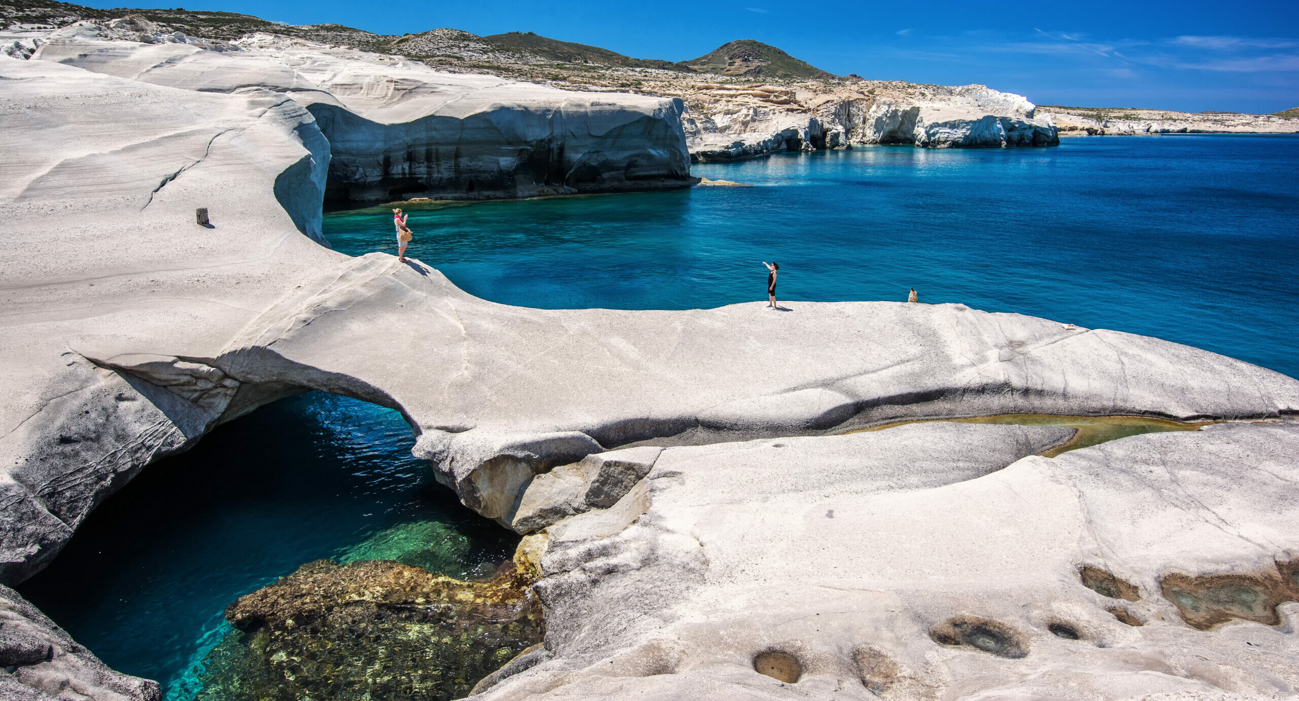 The exotic Greek beaches which were pirate-related