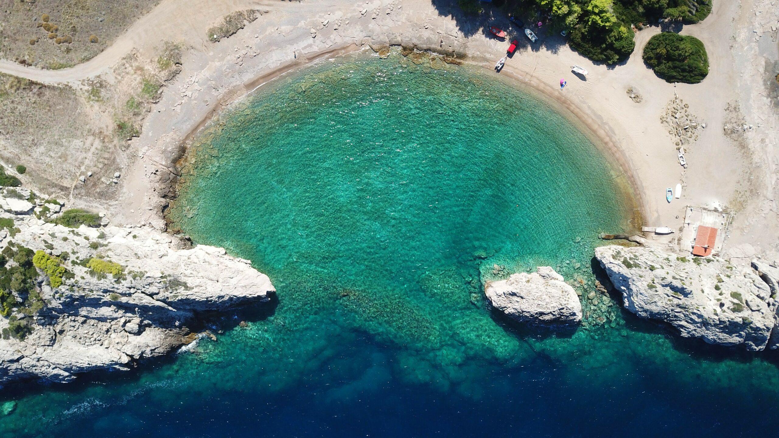 Lakazeza close to Athens: The unexplored beach.