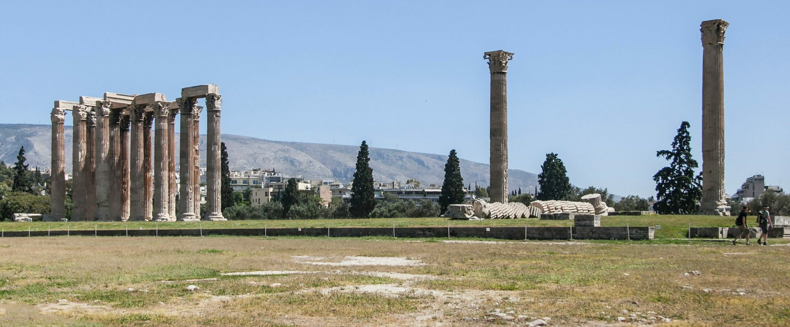 The columns of Olympian Zeus Columns: why it took years to solve the mystery