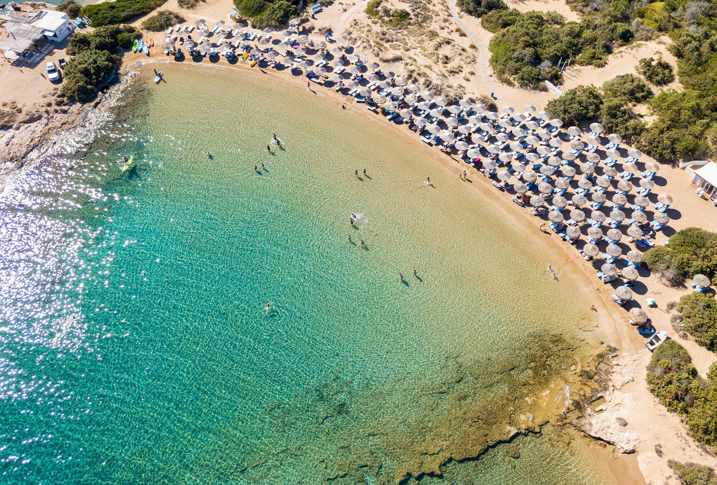 Special for Cyclades divers: Santa Maria Beach