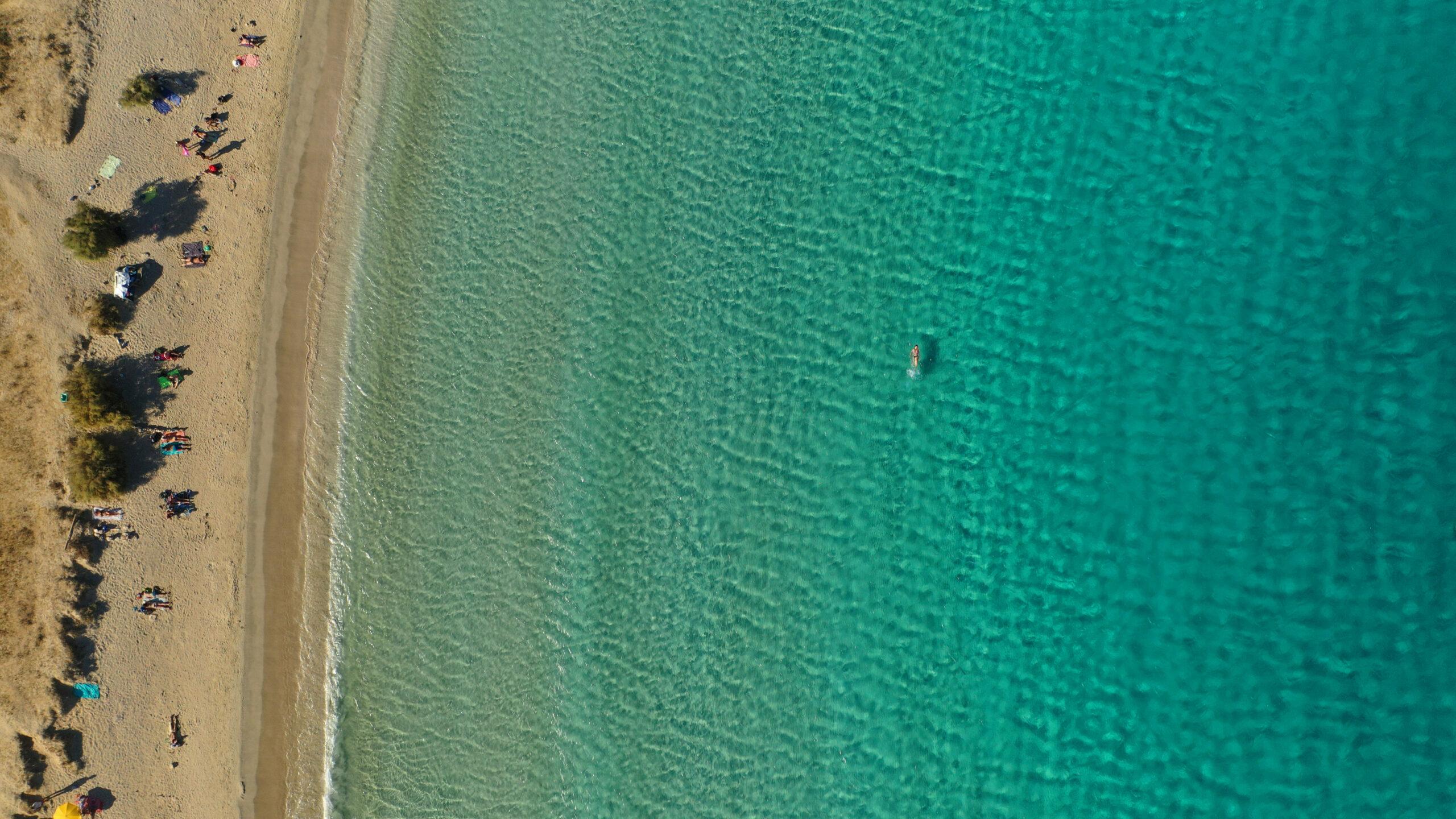 """Pori: The beach called """"paradise"""" in Koufonisia"""