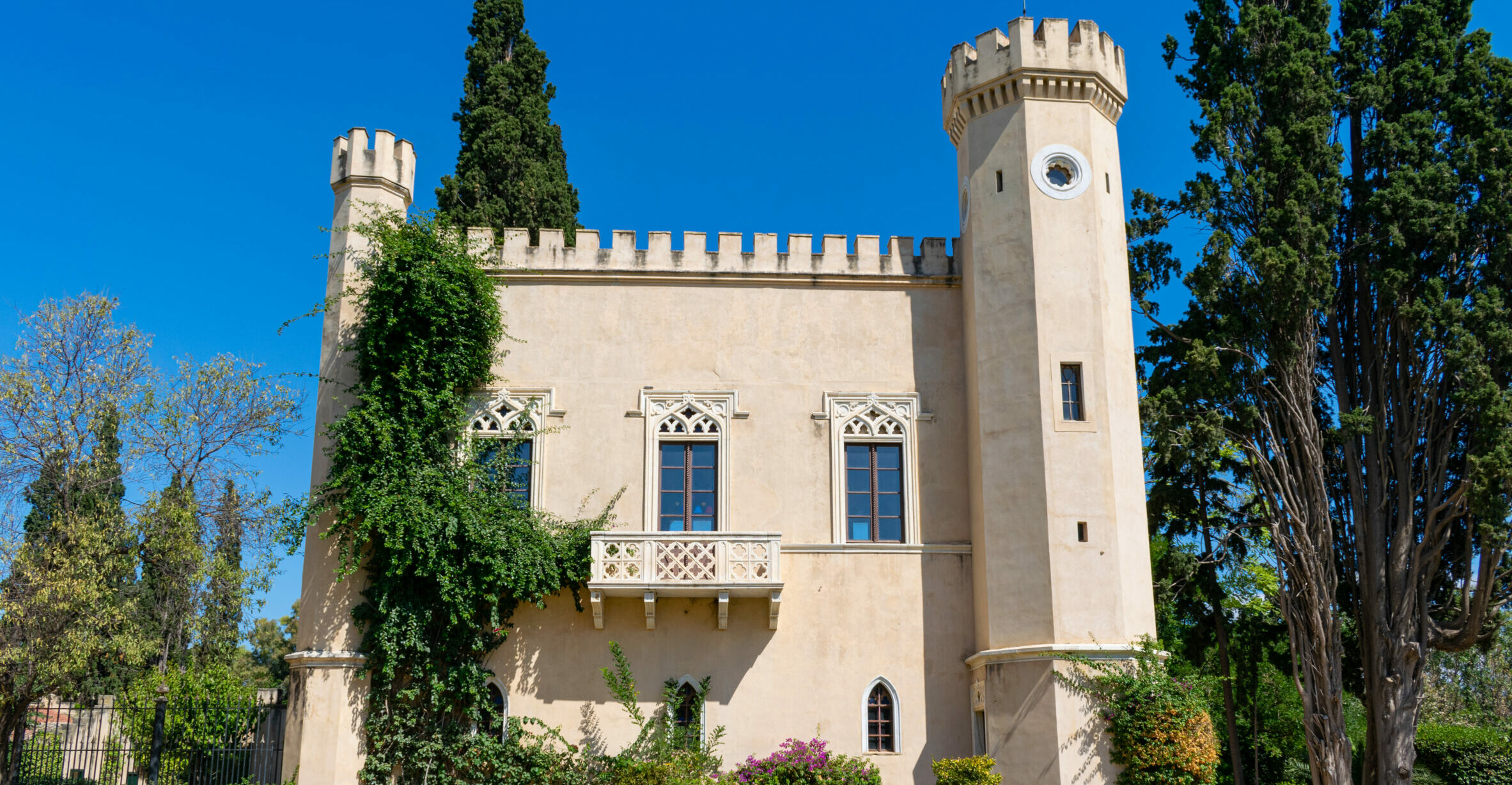 Obscure and impressive: the neo-Gothic towers of Athens