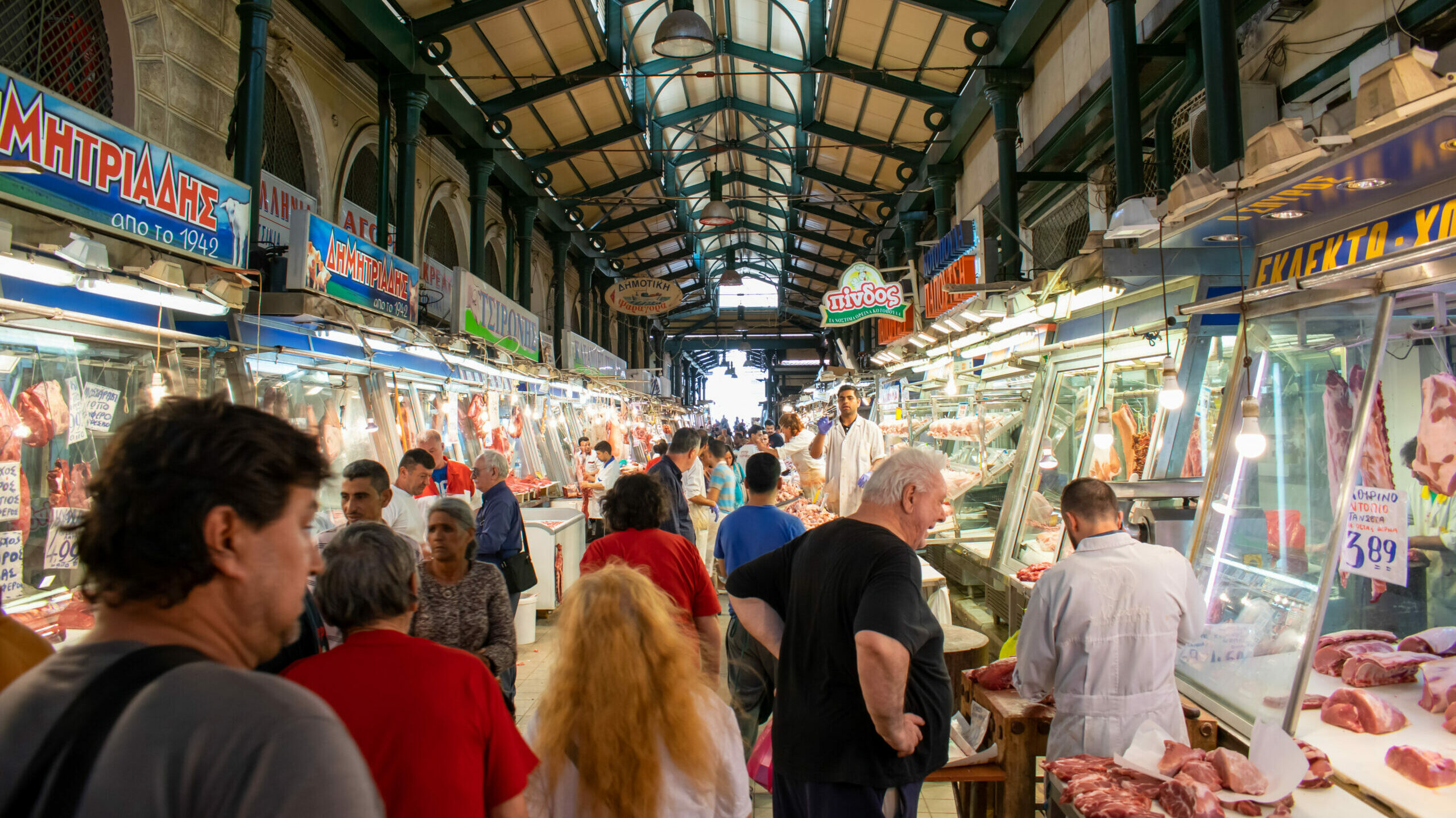 """The Varvakeios market: the story behind the """"stomach of Athens"""""""