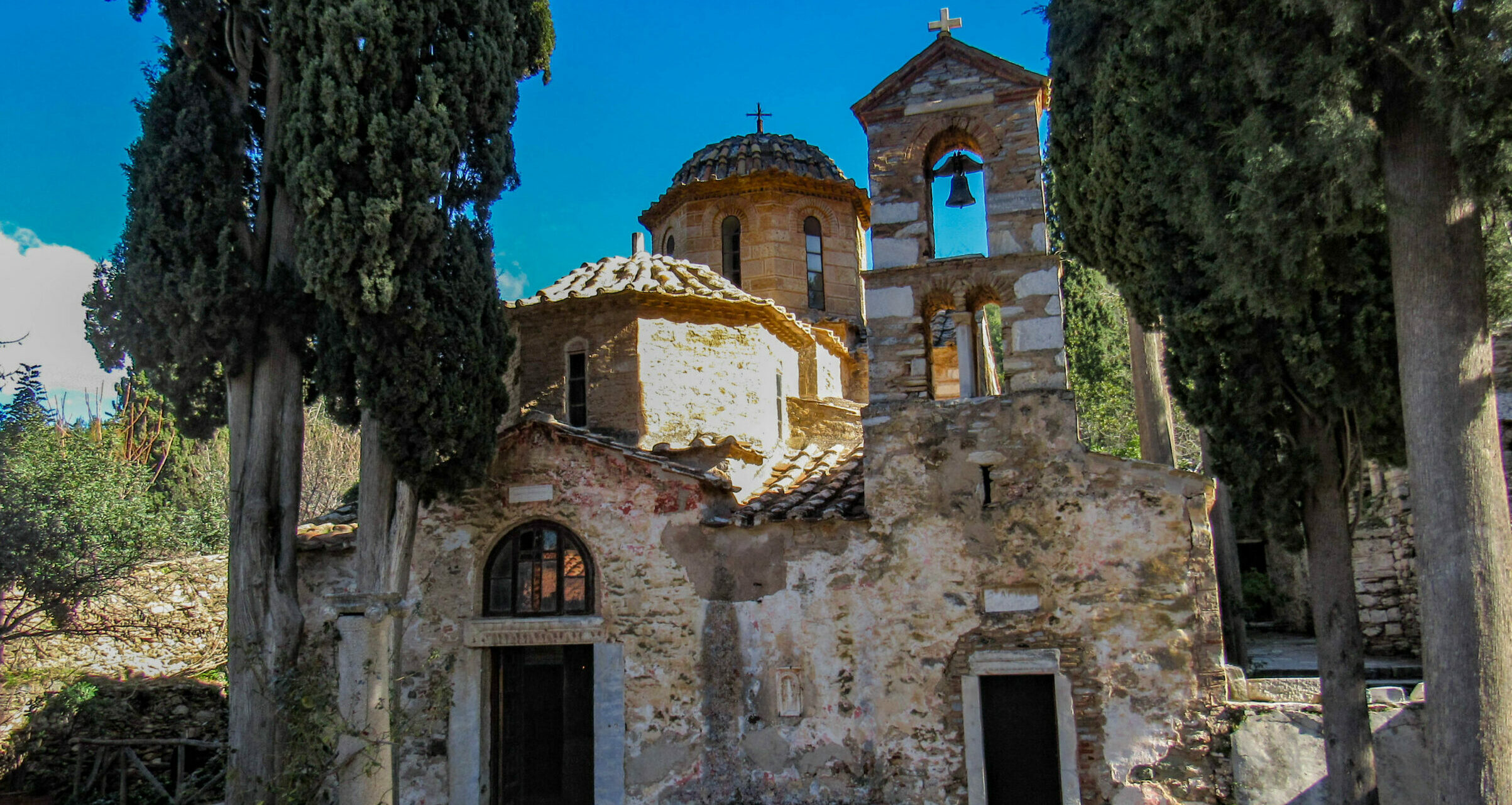 Attica: Kaisariani and its wooded monastery