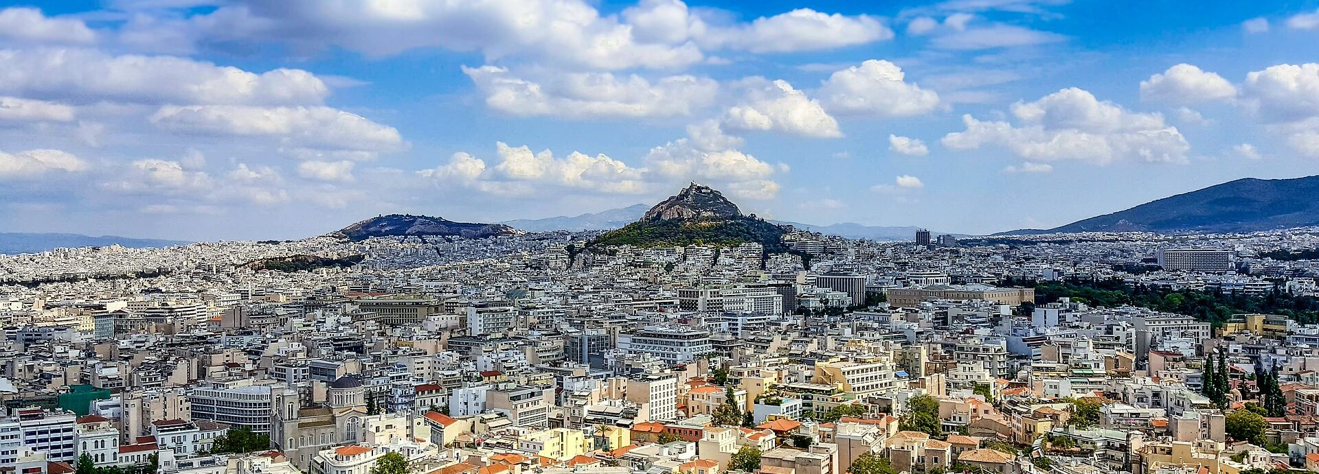 """What was the """"little Lycabettus"""" of Athens, and what happened to it?"""