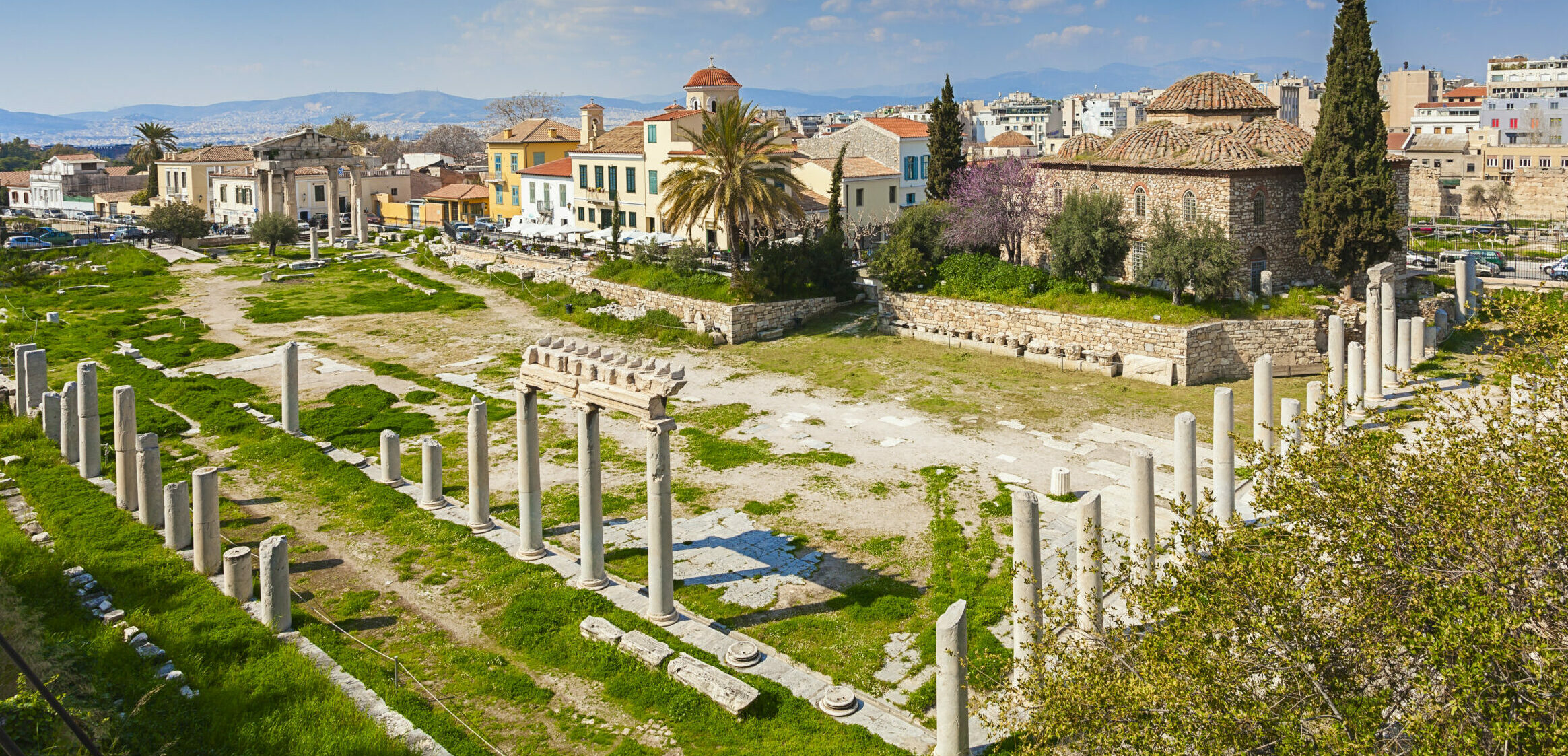 Gone forever:  the old neighborhood under the Acropolis