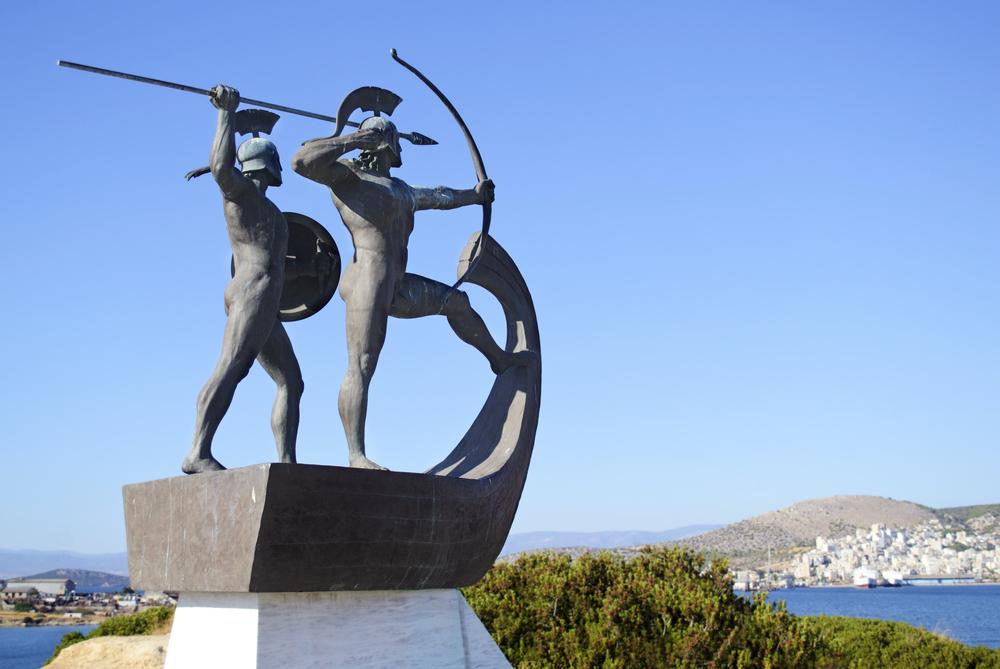 salamina island ancient fighters